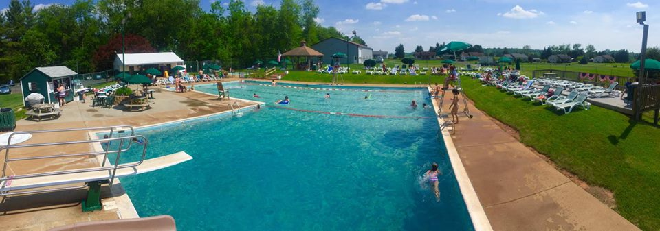 Orange Country Town Pool